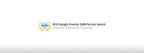 """Ganamos el premio """"Líder en Satisfacción de Clientes"""" de Google Premier Partners!"""