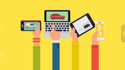 La conducta de los compradores de autos en Internet